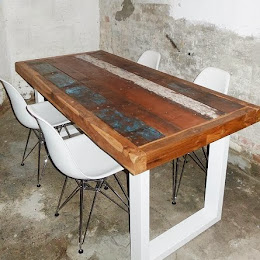 FOR SALE : boat-wood table