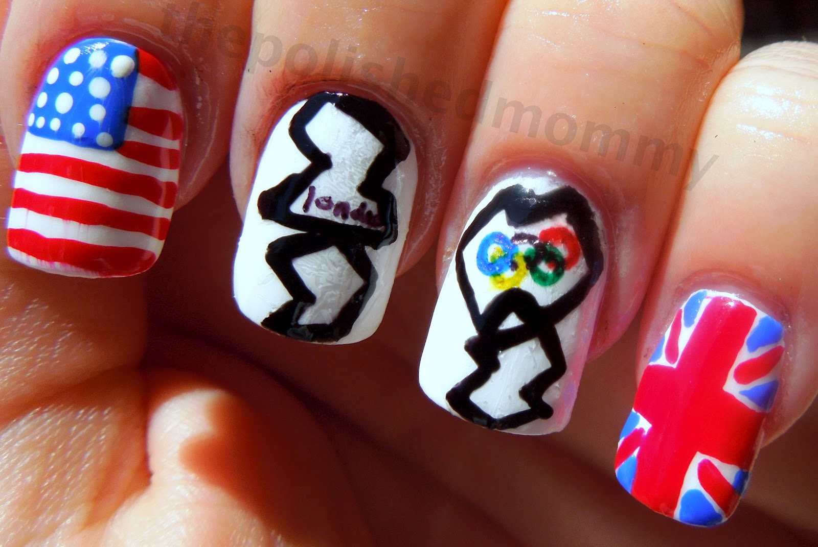 Clawing Your Way To The Top Nail Art Inspired By The London