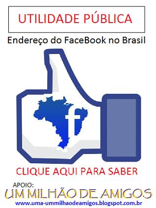 Endereço do Facebook no Brasil