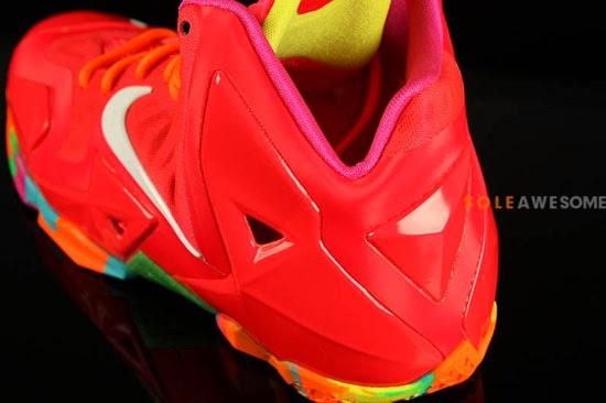 Nike LeBron 11 Black Varsity Red Volt