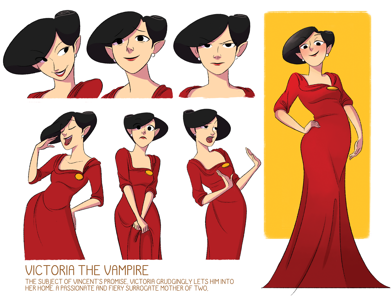 Character Design For Animation Book : Dihuh portfolio character design