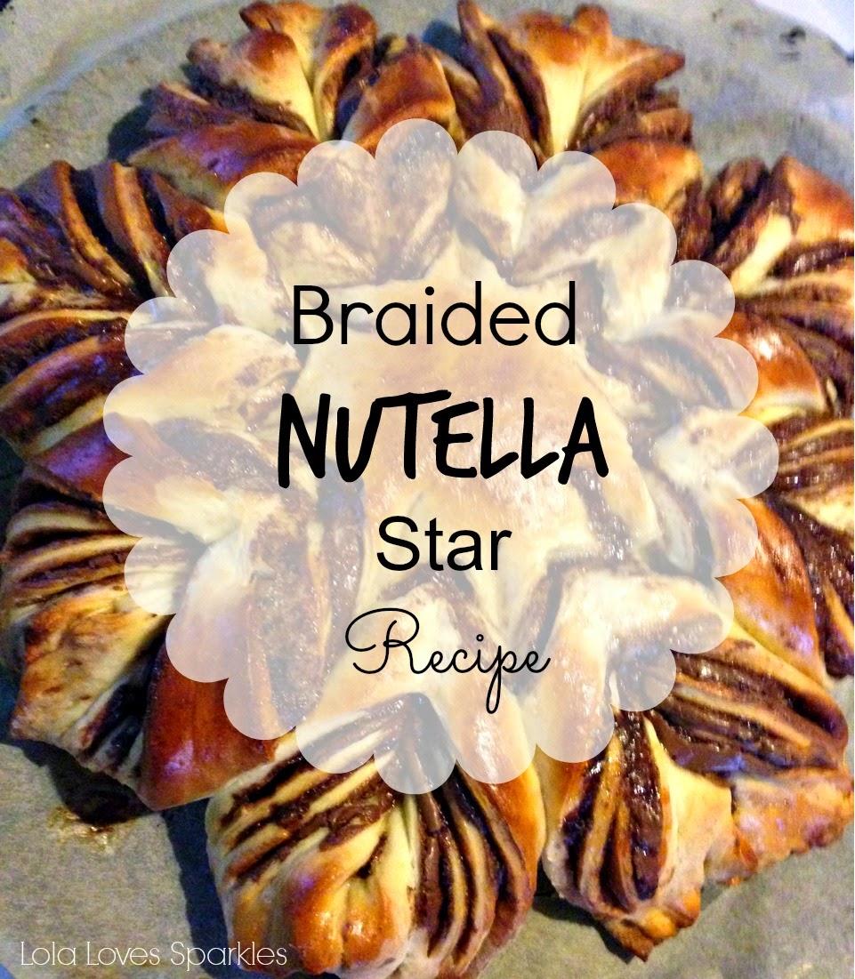 ... Sparkles: Braided Nutella Star | Pull Apart Bread | Brioche [Recipe