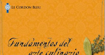 Libros fundamentos del arte culinario le cordon blue cengage for Frances culinario 1