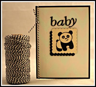 Panda Baby Card