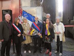 Homenaje a las Brigadas Internacionales en París