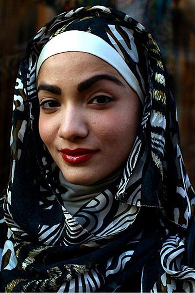 ملابس محجبات 2013 - أشكال متنوعة لإرتداء الحجاب 2013