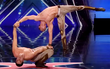 America's Got Talent 2015 – Most Dangerous Acts of the Year – Part 1
