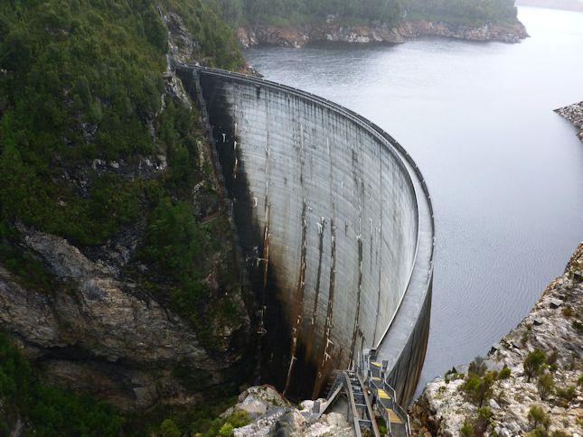 Gordons Dam Tasmania
