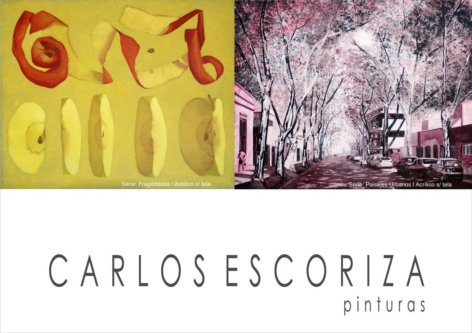 EXPOSICION DE PINTURAS DE CARLOS ESCORIZA | Phi - espacio de arte.