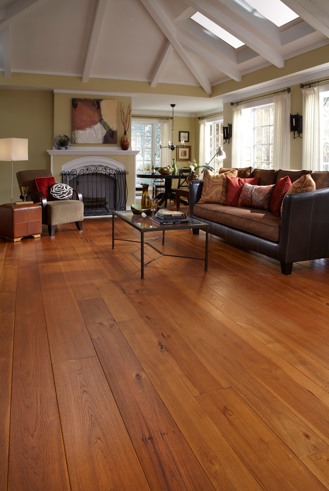 Wide Plank Flooring : Wide plank hardwood flooring ideas home