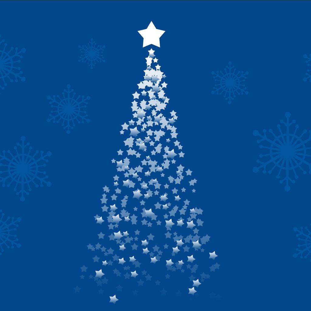 iPad Wallpapers: Free Download Christmas Tree iPad mini ...