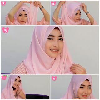 Kumpulan Tutorial Hijab Untuk Wajah Bulat Lengkap Update