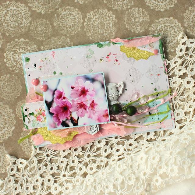 дача, Наташа Кузина, вишневая открытка, вишневый цвет