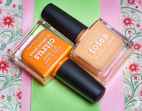 Picture Polish Citrus + Totes