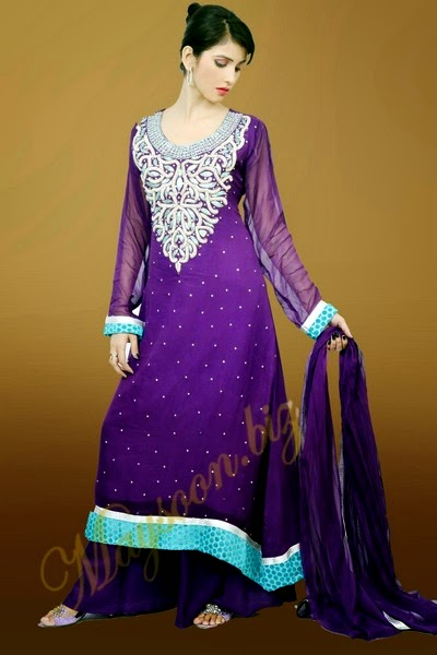 Maysoon Eid Dress Collection 2014