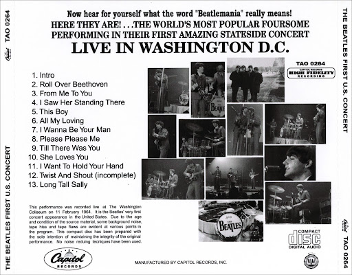 ... To You The Beatles Live Washington Coliseum 1964 Mp3 Download | Criter