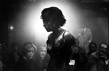 DIANA ROSS as Billie Holiday in THE LADY SINGS THE BLUES