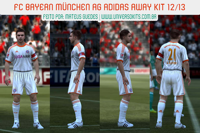 ScreenB FIFA 12: Bayern München Away 12/13