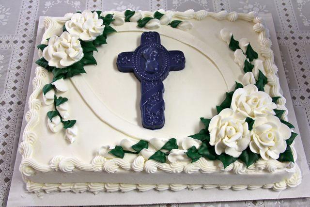 Catholic Cuisine Baptism Cake and Link Up