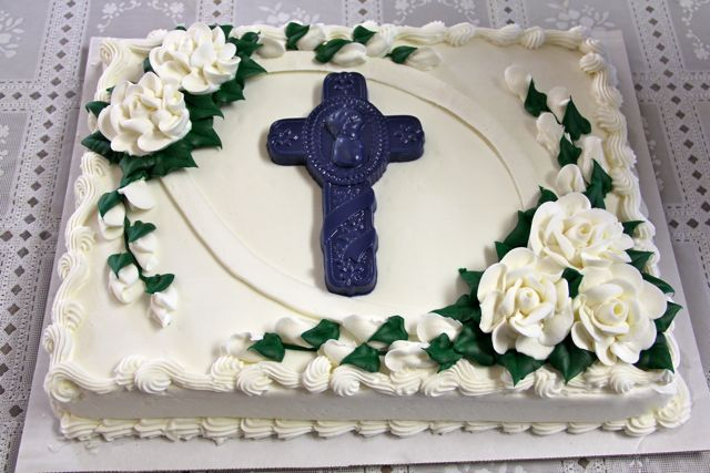 Baptism and First Holy Communion Cakes