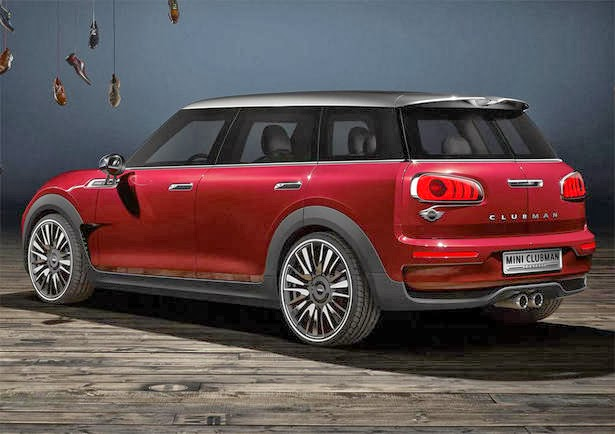 2014 mini clubman concept and release date car release. Black Bedroom Furniture Sets. Home Design Ideas