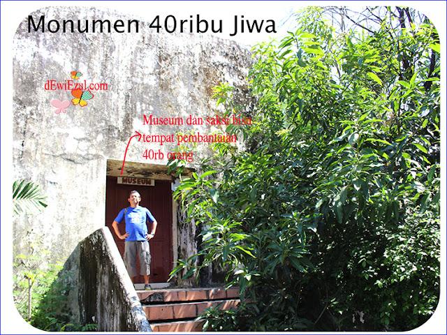 zulfiyan Monumen korban 40rb jiwa makassar Westerling di sulsel