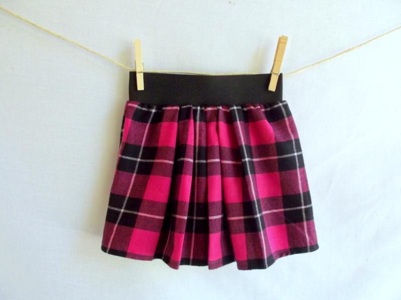 Как сшить юбку в складку с резинкой 322