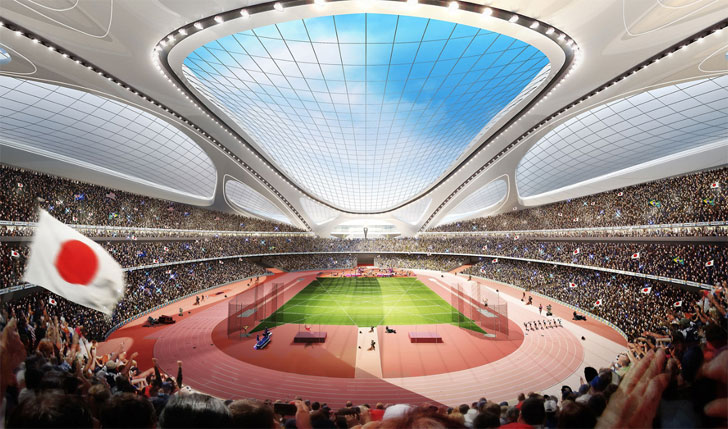 The first prize winner has been selected ! | The New National Stadium Japan