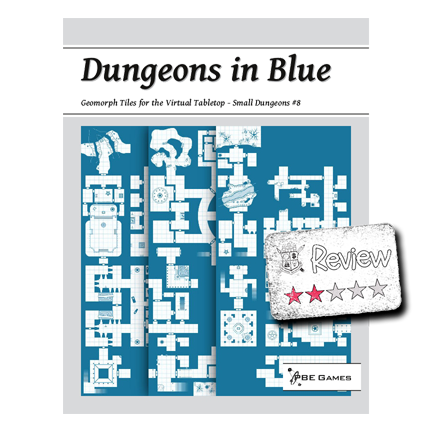 Frugal GM Review: Dungeons in Blue- Small Dungeons #8