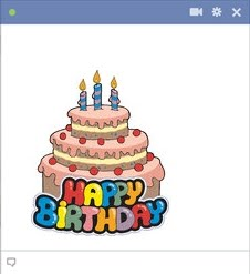 Happy Birthday Emoticons for Facebook |.