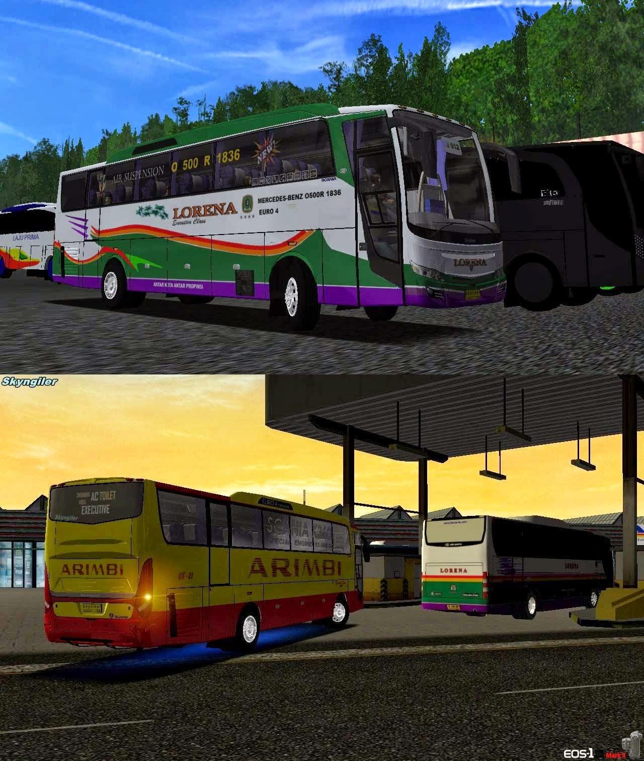 Download Mod Bus Skyliner For UKTS and Haulin