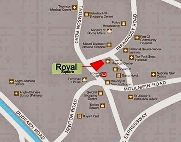 Royal Square @ Novena Location