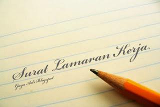 Contoh Cara Membuat Surat Lamran Kerja