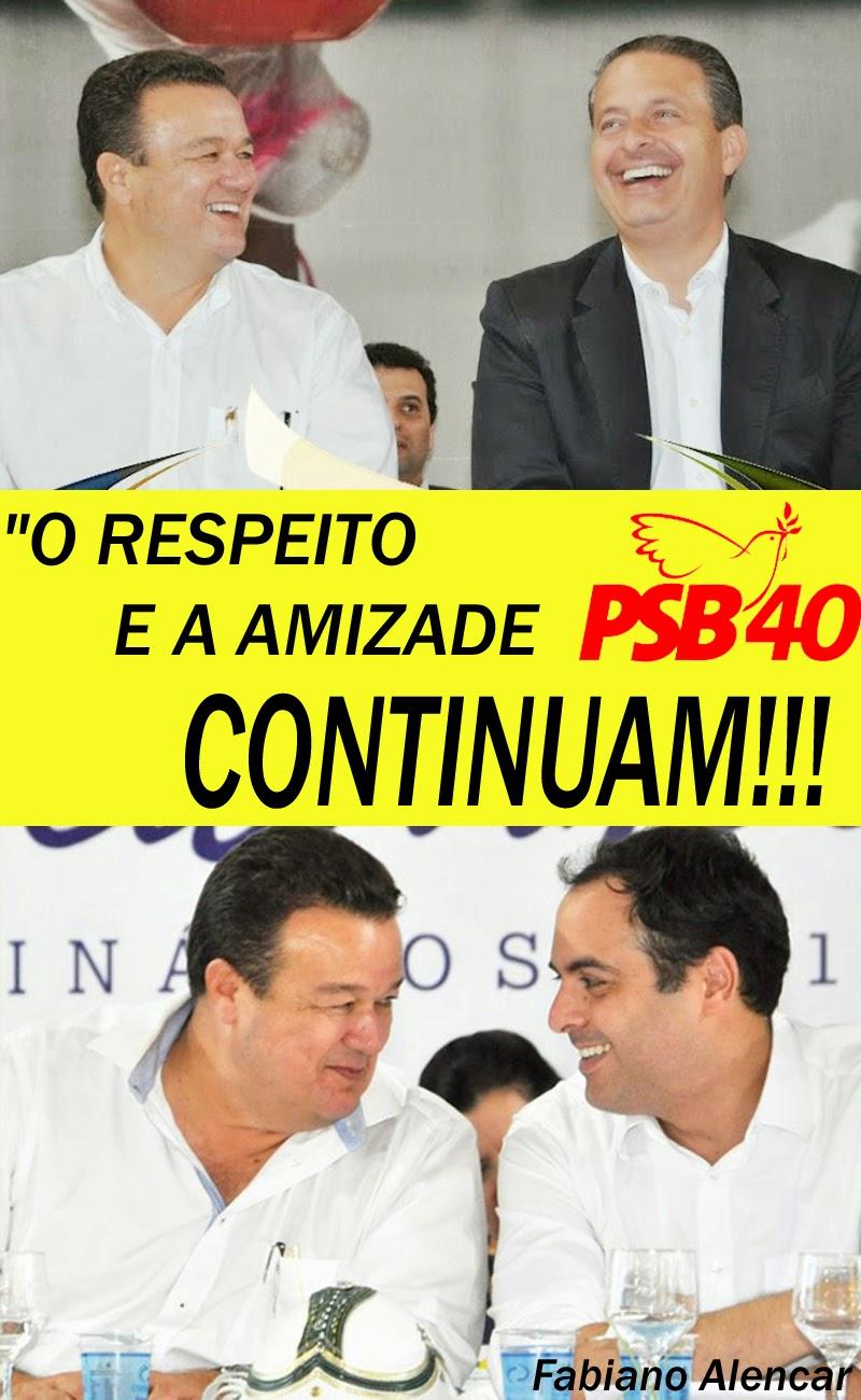 O RESPEITO E A AMIZADE CONTINUAM!!!