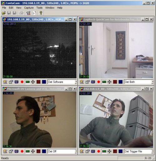 ContaCam Free Video Surveillance software
