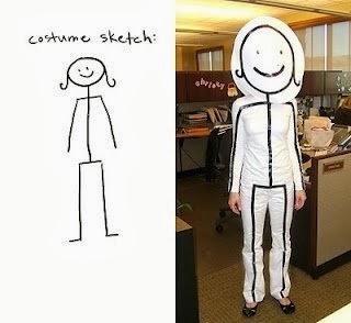 Disfraz creativo: dibujo