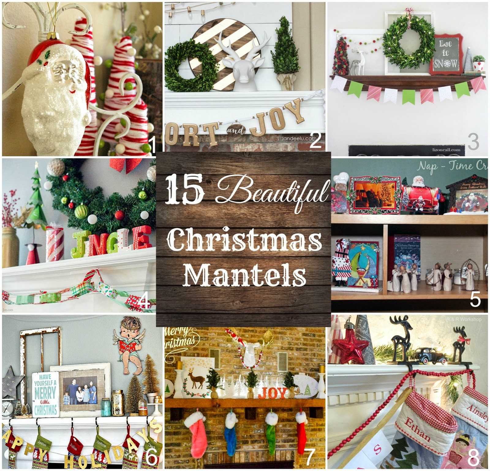 i hope you take a minute to check out these beautiful christmas mantels you will get some terrific ideas to decorate your home - Beautiful Christmas Mantel Decorations
