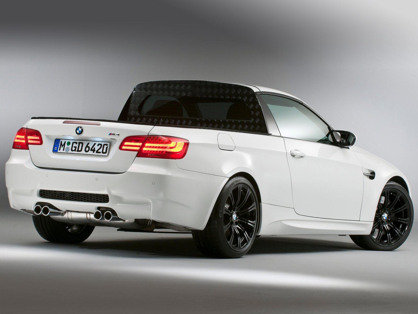 2011 BMW M3 Pickup Concept Car Desktop Wallpaper