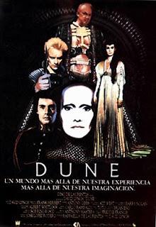 Portada pelicula Dune david Lynch Atreides Harkonnen Bene Gesserit Muad´dib
