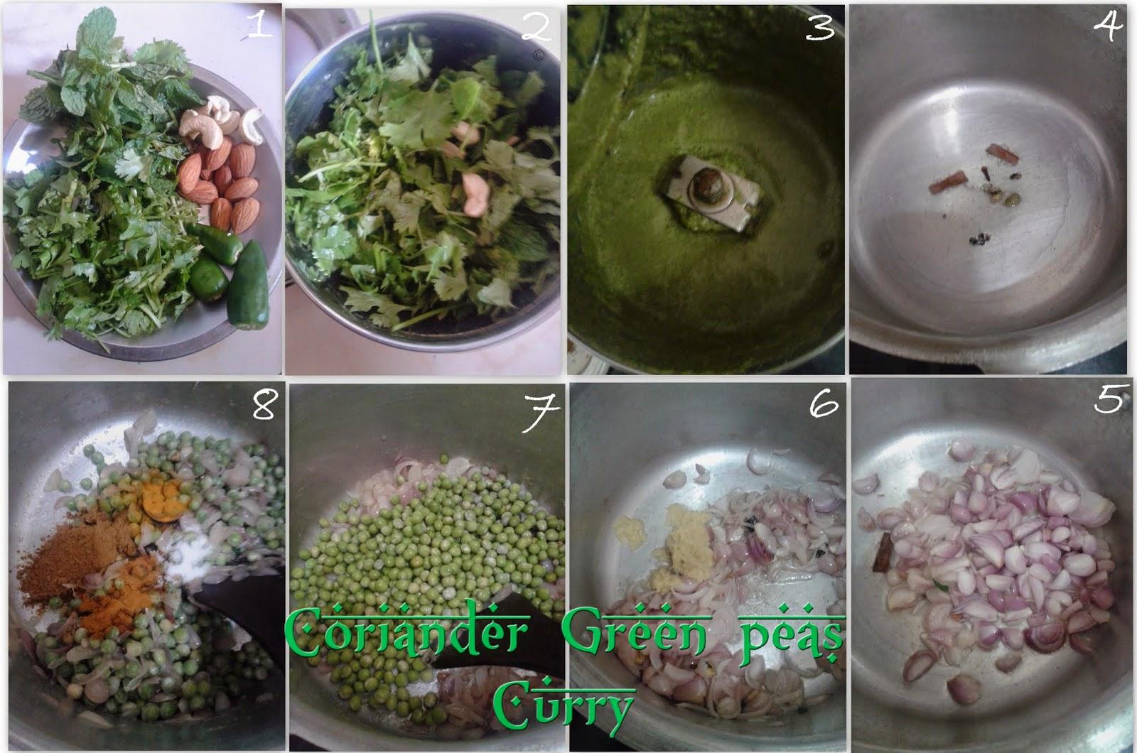 coriander-green-peas-curry