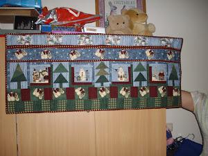 Kerstkaartenhanger
