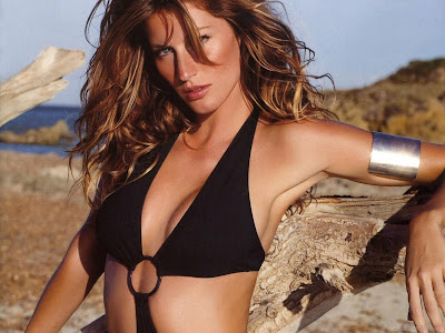 Gisele Bundchen Hollywood Actress Fantastic Wallpaper