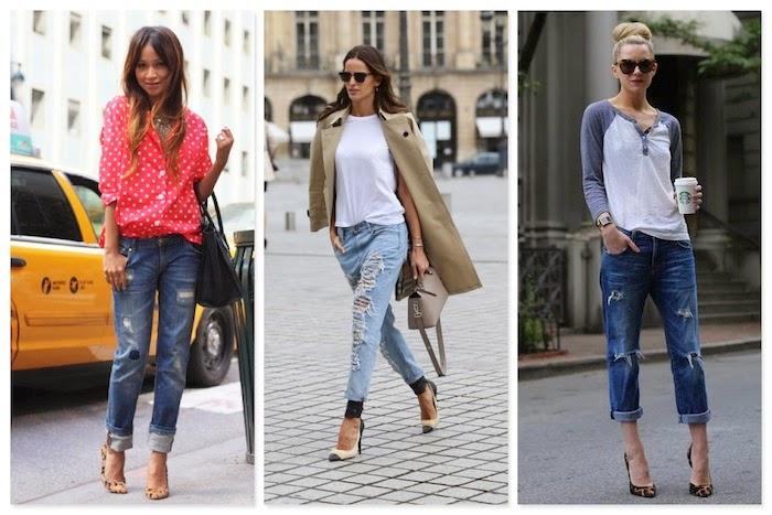 tacchi e boyfriend jeans