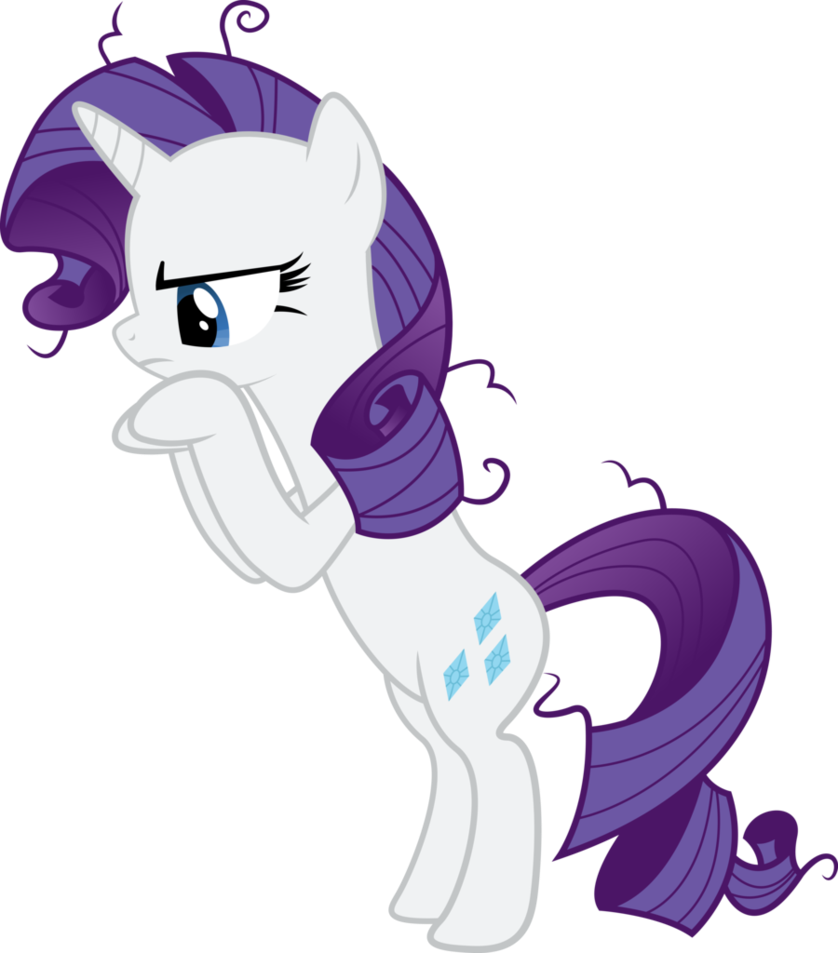 Nerdy Knitter Designs Rarity From My Little Pony