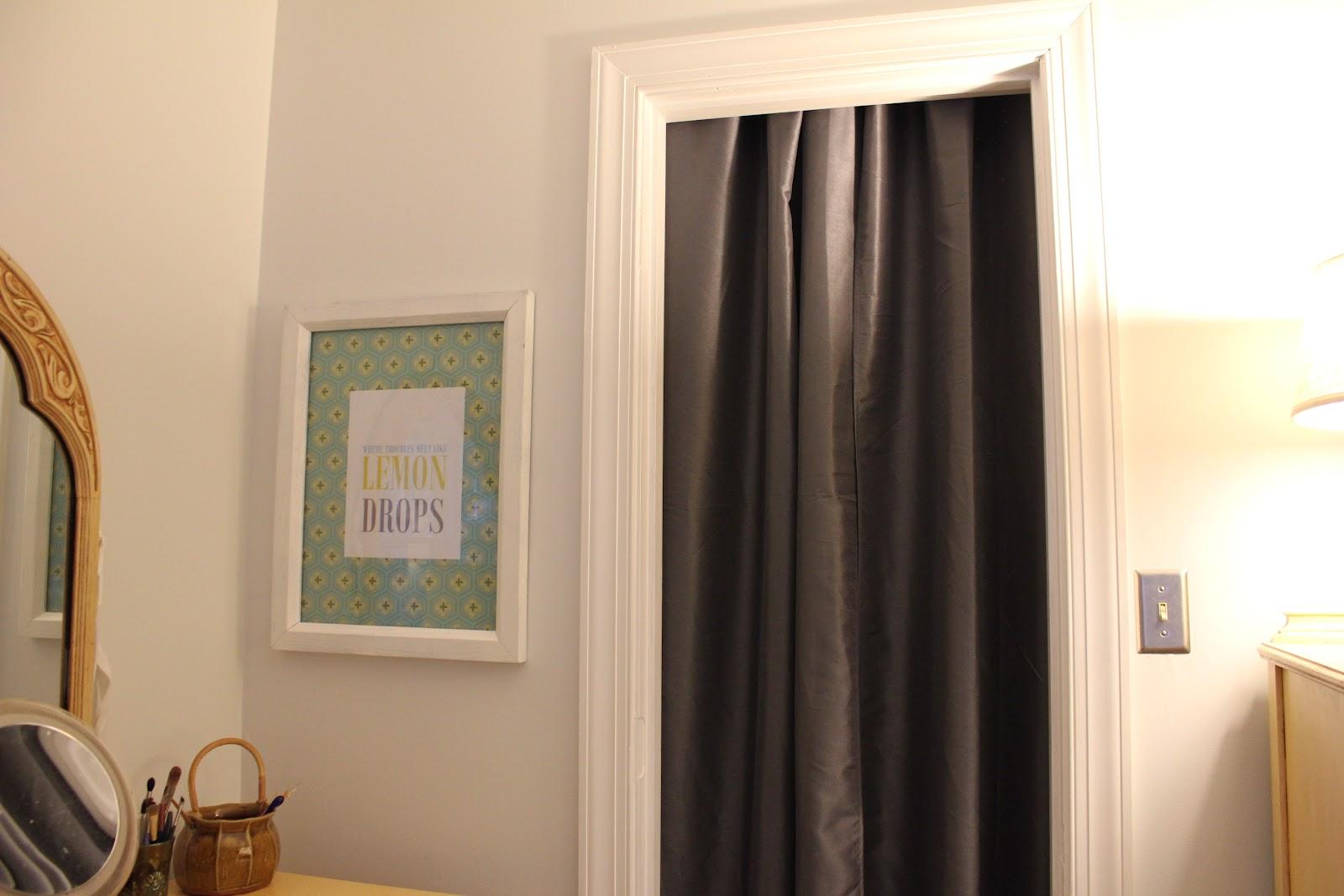 Curtains for closet doors - Gray Curtains For Closet Doors