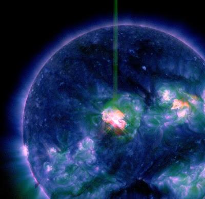LLAMARADA SOLAR CLASE M3.5, 21 DE NOVIEMBRE 2012