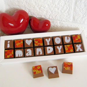 Ma Bicyclette - Buy Handmade - Valentines Gifts For Her - CocoaPod - Personalised Chocolates