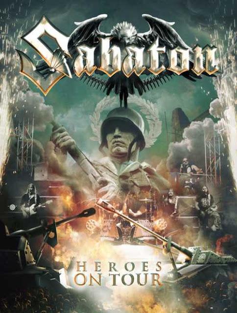 "SABATON: Δείτε το ""Resist And Bite"" απο το επερχόμενο ""Heroes On Tour"" live DVD"