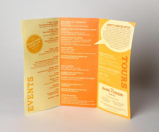 Attractive Color for Brochure