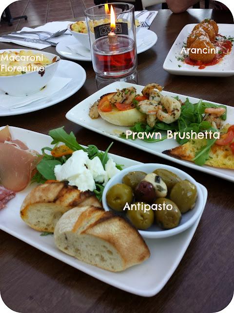 prezzo spring menu, antipasto, prezzo review